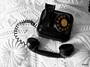 telefóno coloreado